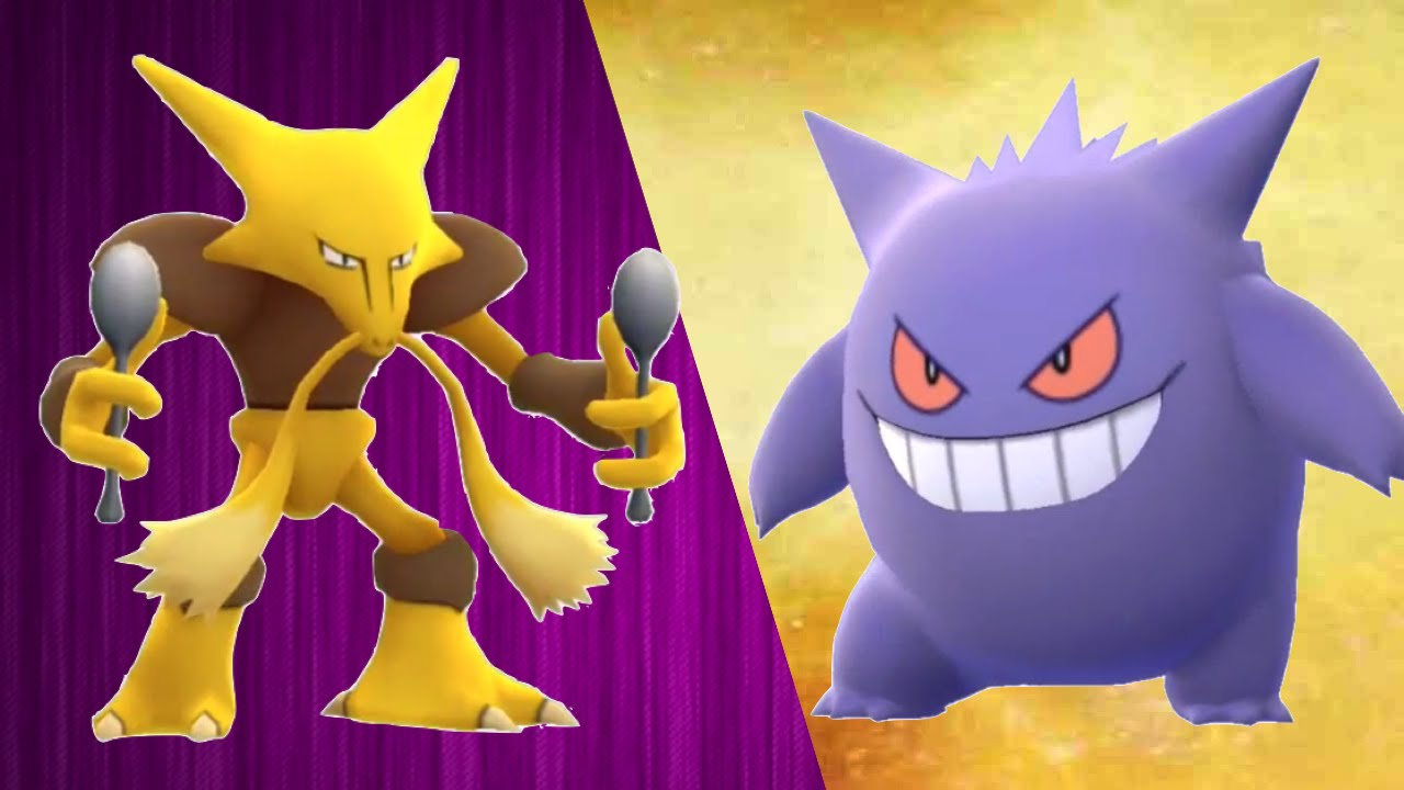 Pokemon GO Alakazam VS Gengar | Rarest Pokemon in Pokemon ...