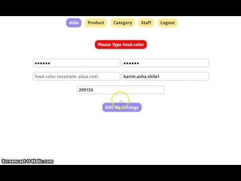 Edit Admin Profile