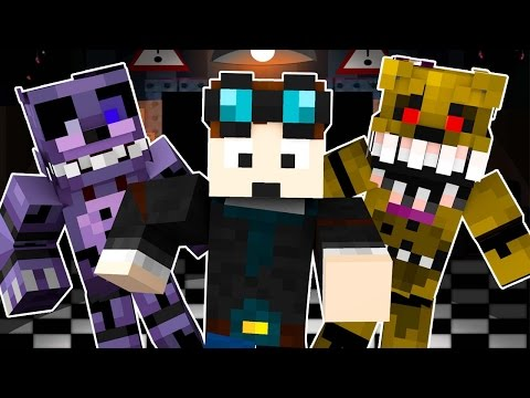 TheDiamondMinecart Goes Into Five Nights At Freddy's 4 (Night 4) - Minecraft Roleplay!