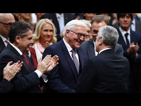 Frank-Walter Steinmeier voted in as Germany's new president