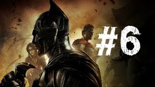 Injustice Gods Among Us Gameplay Walkthrough Part 6 - Cyborg - Chapter 6