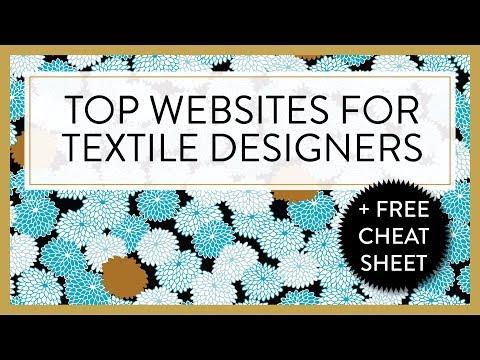 TEXTILE DESIGNER :P TOP WEBSITES FOR TEXTILE DESIGNERS