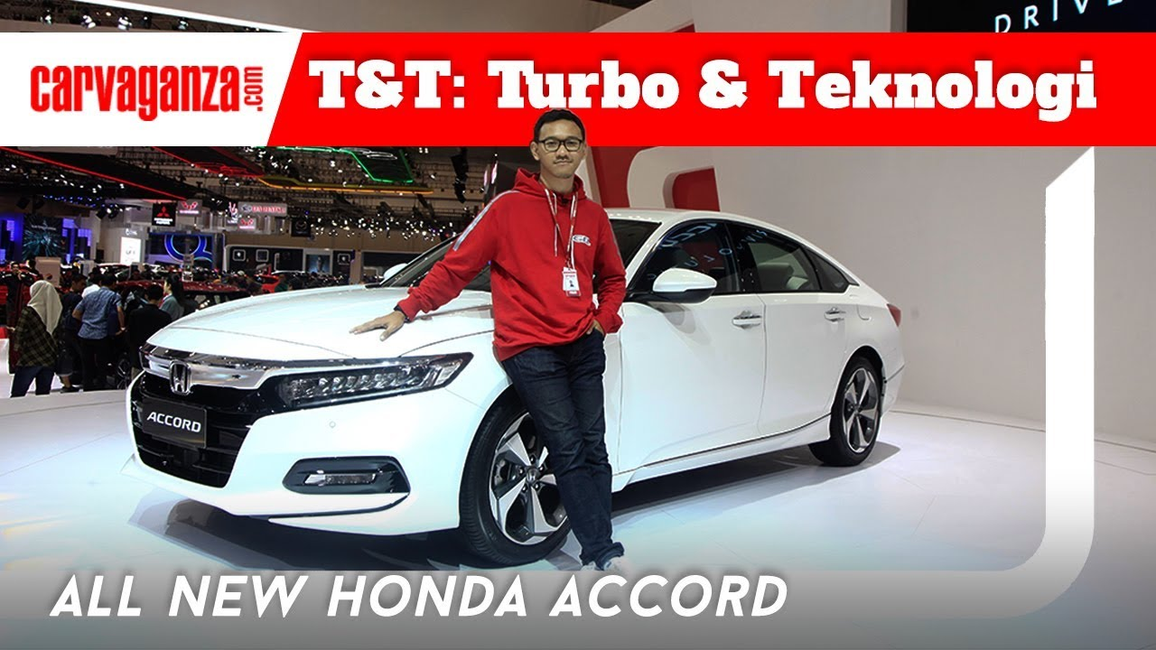 Honda Accord Turbo >> Video Lihat Mewah Dan Canggihnya All New Honda Accord Turbo