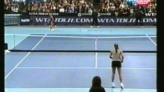 Mary Pierce vs Anna Kournikova Chase Championships 1999