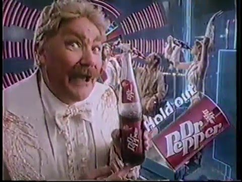 Rip Taylor 1984 Dr. Pepper Commercial