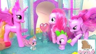 видео Игрушки лошадки пони