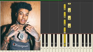 Blueface Famous Cryp Piano Medley / Cover + MiDi