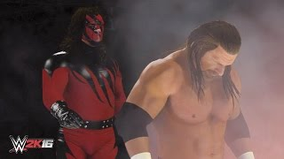 WWE 2K16 Masked Kane Chokeslam Entrance Breakouts & Sneak Attacks!