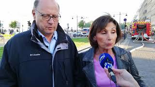 Incendie à Bordeaux : les explication des élus de la mairie