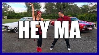 Pitbull & J Balvin ft. Camila Cabello - HEY MA Dance Choreography