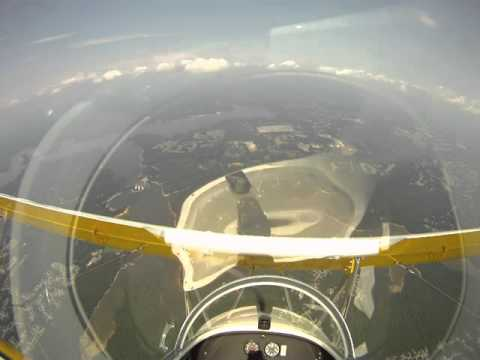 James Ray DeHart Jr - First Flight Aerobatic Light Sport Bip
