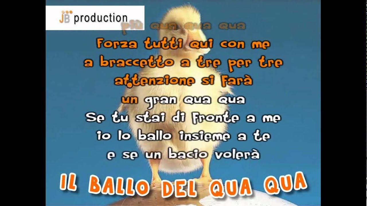 Il Ballo Del Qua Qua La Tv Dei Bambini Youtube