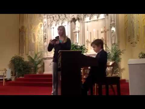 Ave Maria BachGonoud - Moses Mabarak and Megan Seivert