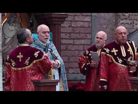 Краснодар/24 апреля 2021 год/Церковь святых Саака и Месропа/сюжет