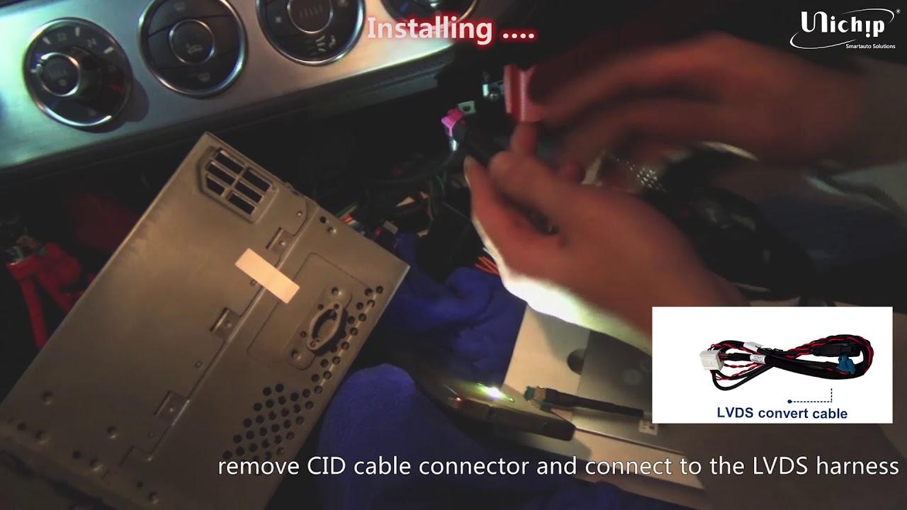 How To Install Unichip Carplay Smartbox For Bmw Z4 Cic Navigation