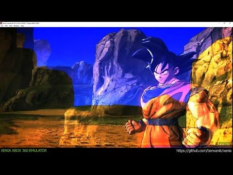 Xenia Xbox 360 Emulator - Dragon Ball Z: Battle of Z ingame