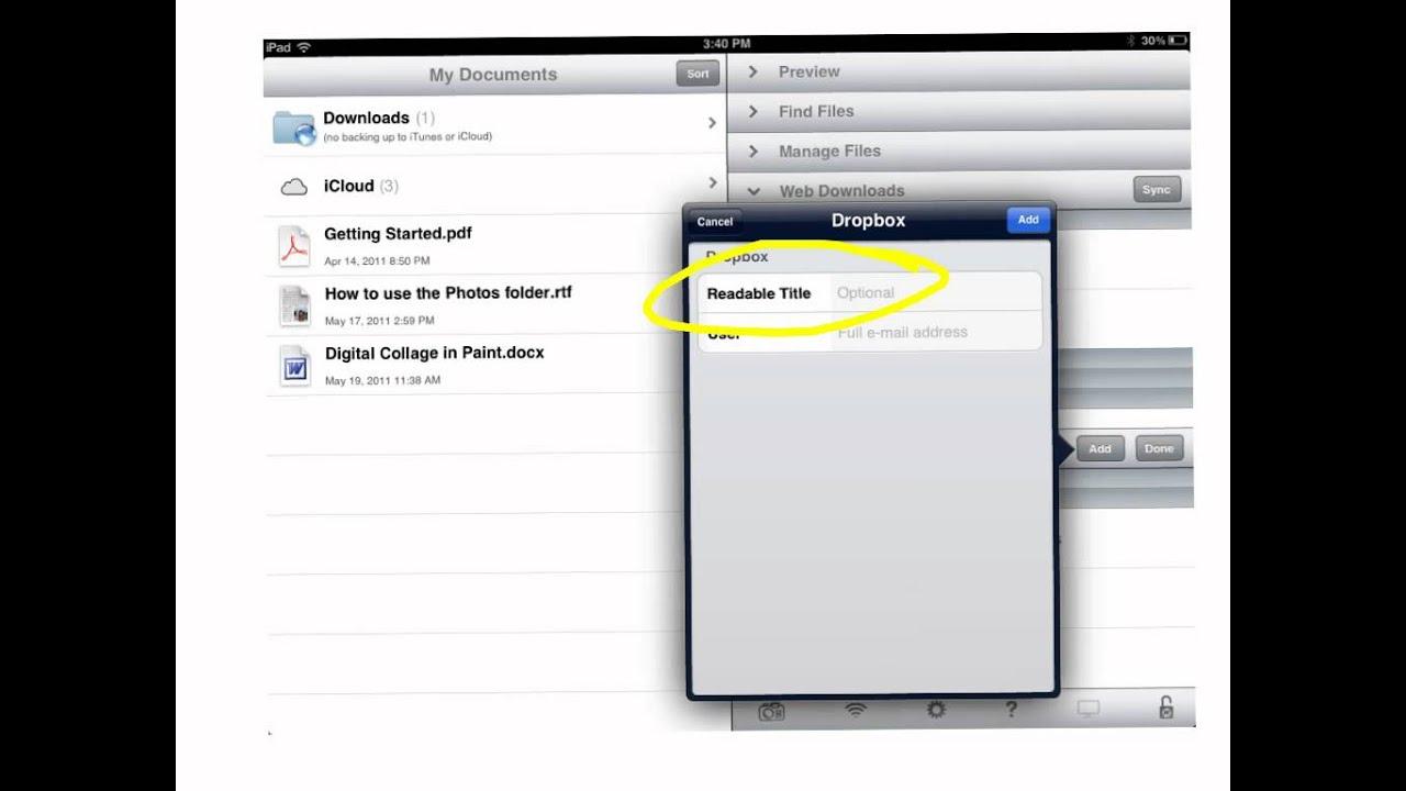 Goodreader Docs To Dropbox