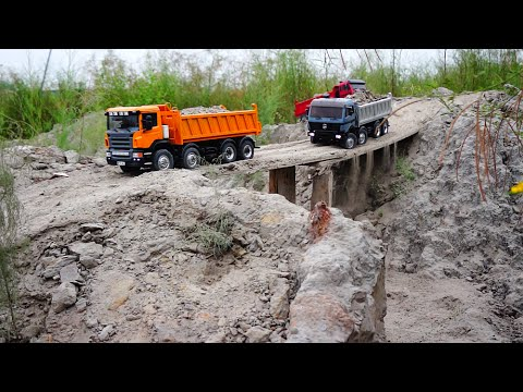 BEST OF RC CONSTRUCTION MACHINERY 2015! MAN, Mercedes or IVE