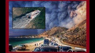Пожары в Халифорнии. (Л.Д.О. 198 часть.)