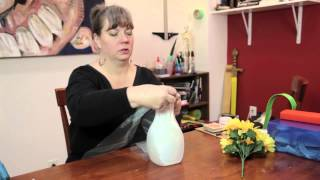 How to Decorate Bottles & Jars : Various Decorative Crafts