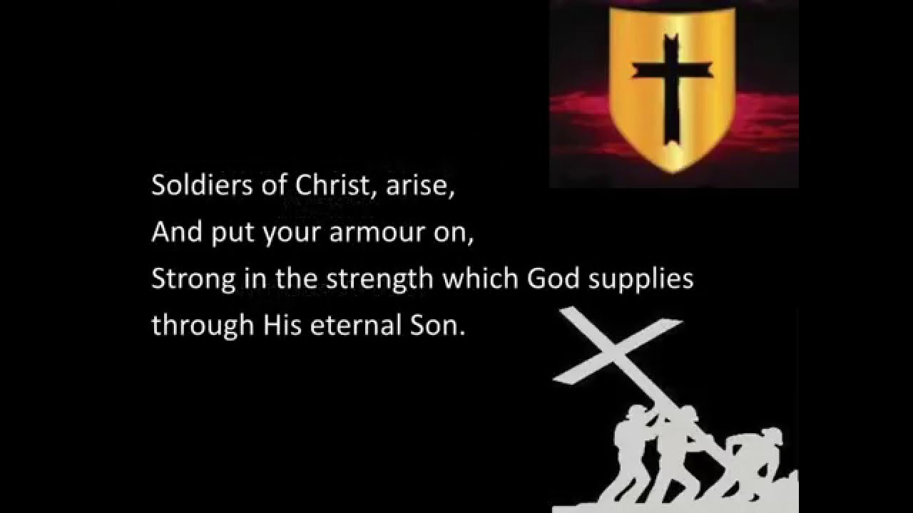 Soldiers Of Christ Arise Various Lyric Video Youtube