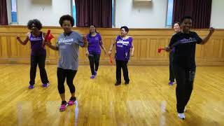"Leave It Smoking  line dance by ""Roc City Line Dance Express"""