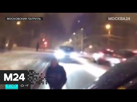 """""""Московский патруль"""": полиция заинтересовалась видео с катанием на детском снегокате - Москва 24"""