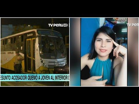 Miraflores: hombre prende fuego a joven al interior de bus