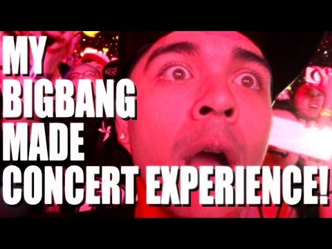 MY BIGBANG MADE CONCERT EXPERIENCE | Vlog #10