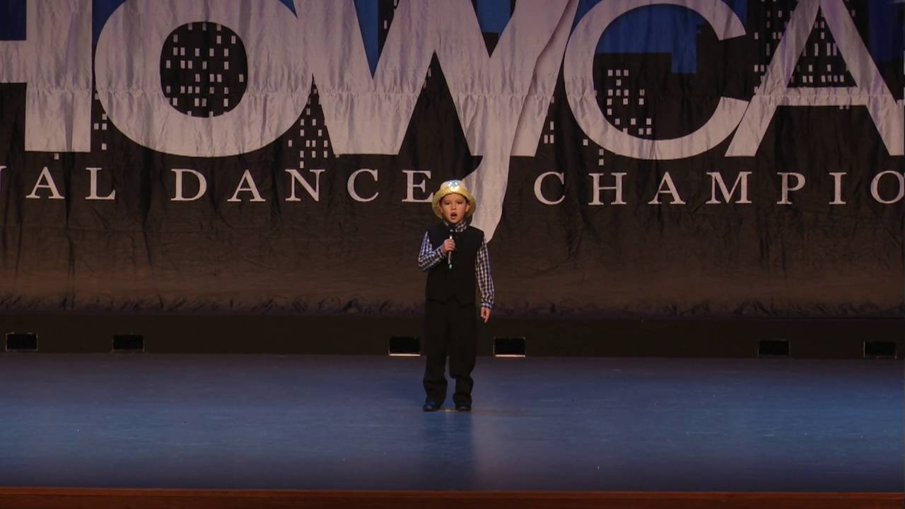 JD HOLT (6 yrs) - 2nd place: Showcase Regional Dance Comp (6 Aug 2016)