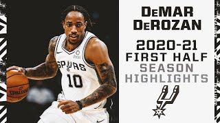 DeMar DeRozan 2020-21 San Antonio Spurs First Half Season Highlights