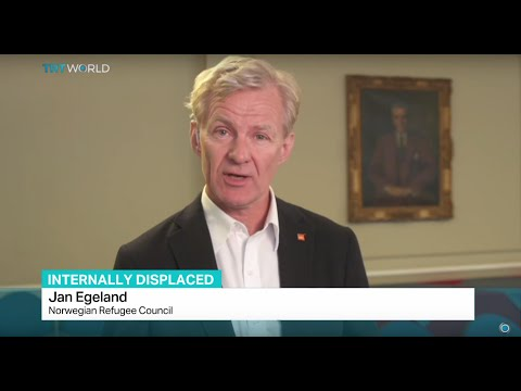 Interview with Jan Egeland from Norwegian Refugee Council on global internal displacement