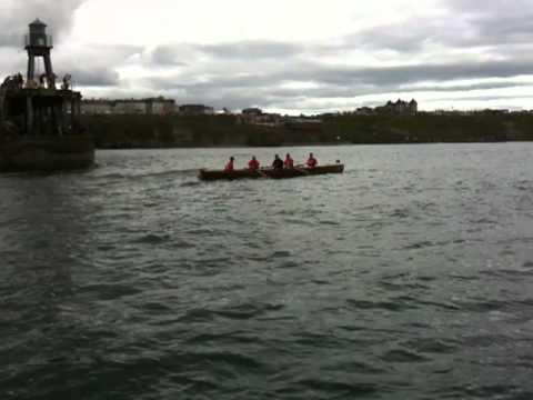 Whitby UK   Whitby Regatta Rowing Race 3