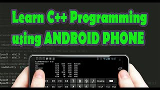 Learn C++ Programming Using Android Phone