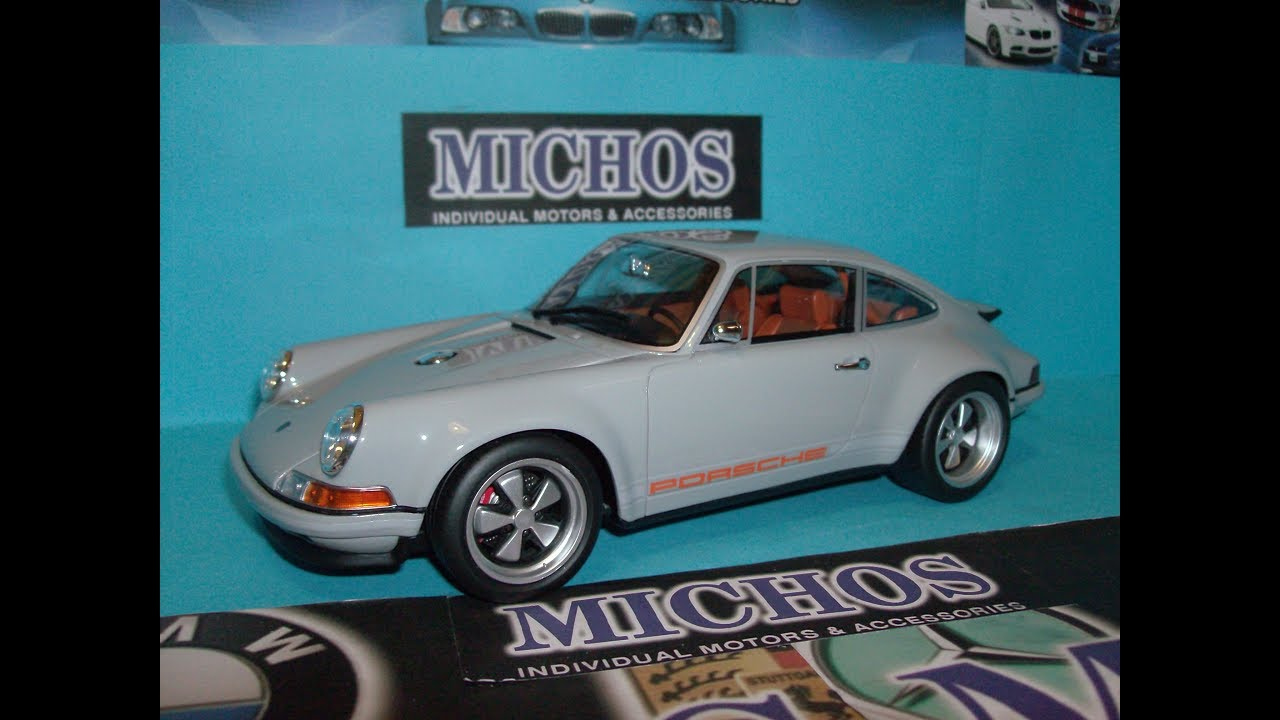 1/18 Porsche 911 (Base 964) By Singer / Gt-Spirit [GT088] Resin Model