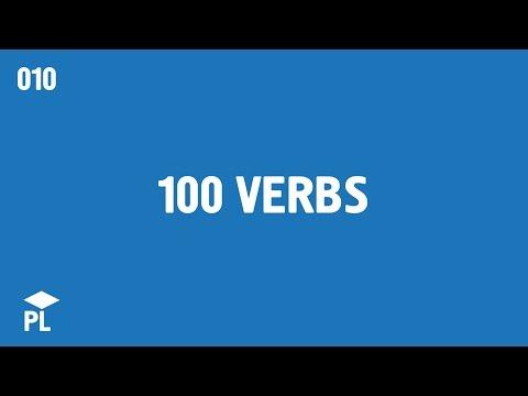 Learn European Portuguese (Portugal) - lesson 010 - 100 verbs (eu)