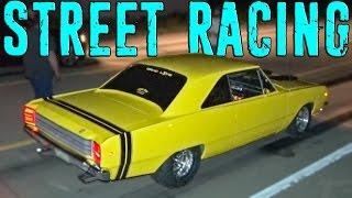 Missouri STREET RACING - Turbo Jeep vs NASCAR...