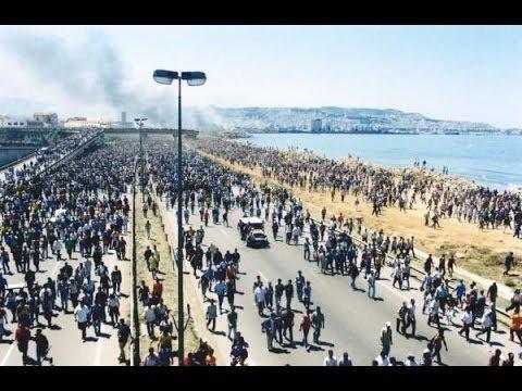 La marche du 14 juin 2001,le peuple kabyle marchait sur Alger, Printemps Noir