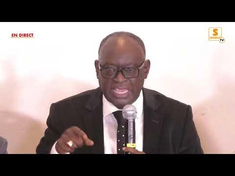 Suivez en Direct sur Senego : Conférence de Presse de Me El Hadji Diouf, Président du parti PTP
