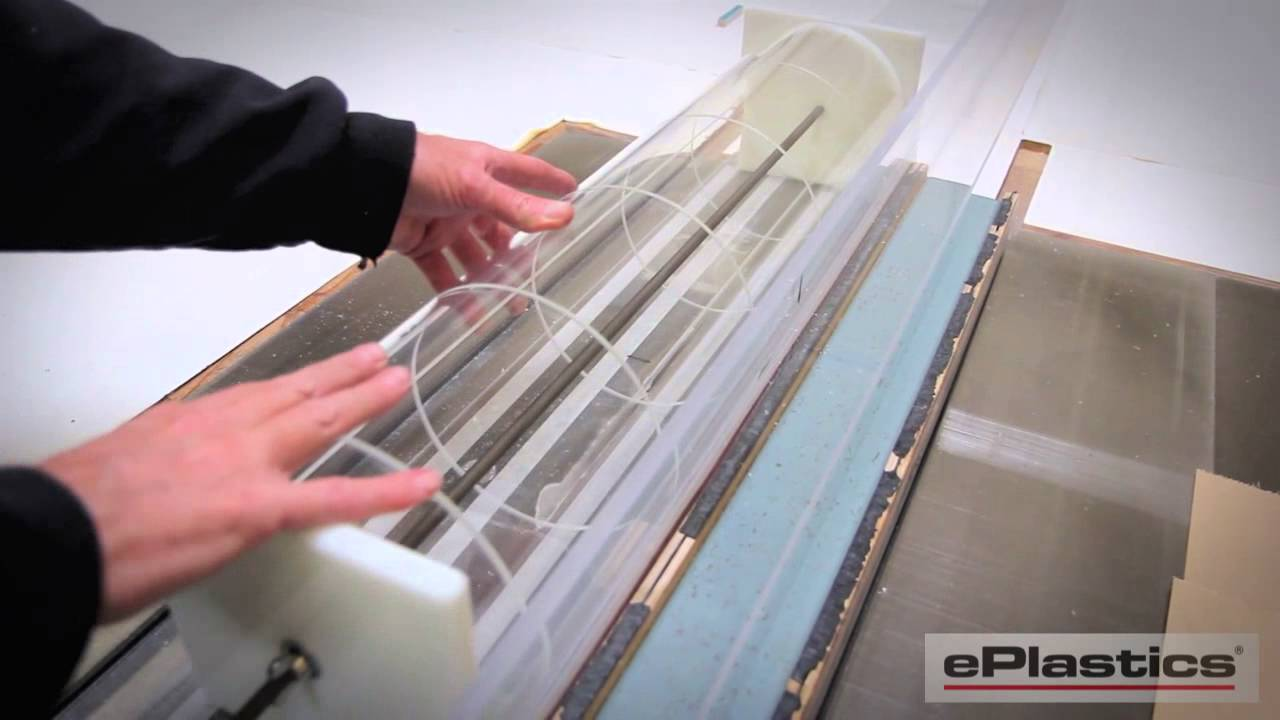 Notching Acrylic Tubes on a Table Saw - YouTube