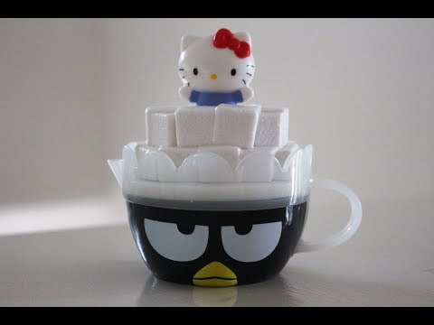 Download Youtube: Hello Kitty Badtz Maru Creamer Tea Cup | McDonalds Hello Sanrio Happy Meal Toy # 6