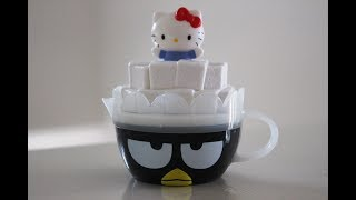 Hello Kitty Badtz Maru Creamer Tea Cup | McDonalds Hello Sanrio Happy Meal Toy # 6