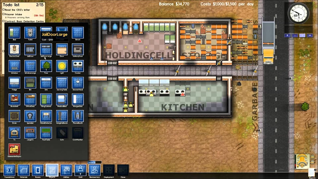 Lets Play Prison Architect V4 Part 1 In Before First 8