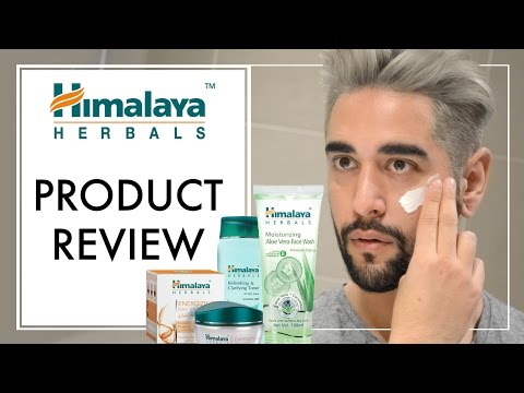 Himalaya Herbals Brand / Product Review And Skin Care Routine  ✖ James Welsh