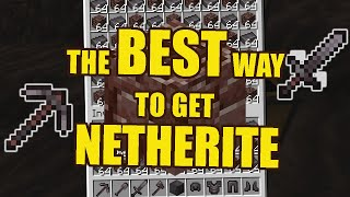 The EASIEST and BEST way to find ANCIENT DEBRIS/NETHERITE - Minecraft 1.16+ Java and Bedrock!