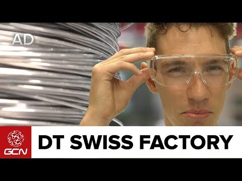 Where Spokes & Wheels Are Made - Inside The DT Swiss Factory