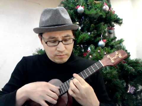 What Child Is This Ukulele Christmas Carol 우쿨렐레 크리스마스 - YouTube
