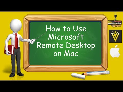 How To Use Microsoft Remote Desktop On Mac