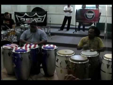 Puerto Rico Percusionistas, Richie Flores y Paoli Mejias Master Class Parte 1