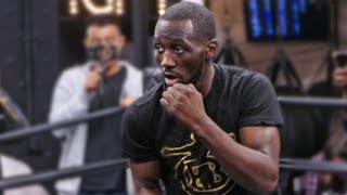 Terence Crawford OFFICIAL PUBLIC WORKOUT vs. Amir Khan | NYC